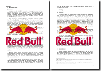 Red Bull: Analyse personnelle