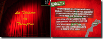 Création d'un théâtre privé à Casablanca