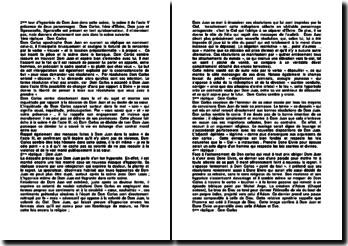 Dom Juan; scène 3, acte V - Molière: analyse chronologique des répliques