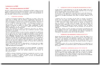 La dissolution du PACS - unilatéralité et consentement, liquidation et droits