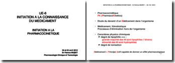 Inititation à la pharmacocinétique: PK d'un M lipophile pris par voie orale