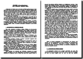 Lettres philosophiques, lettre 10: Sur le commerce - Voltaire