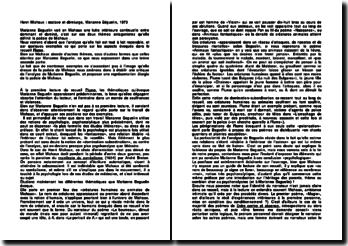 Henri Michaux : esclave et démiurge, Marianne Béguelin, 1973