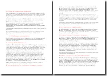 dissertation etat unitaire décentralisé