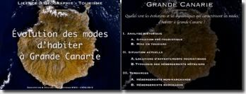 Évolution et dynamique qui caractérisent les modes d'habiter à Grande Canarie