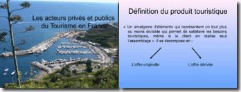 Les acteurs privés et publics du Tourisme en France