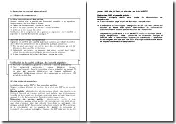 La formation du contrat administratif