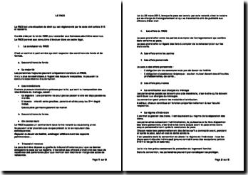 Le pacte civil de solidarité (PACS): conclusion, effets, dissolution