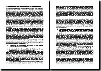 L'extension de la recevabilité des actions au nom d'intérêts collectifs des associations loi 1901