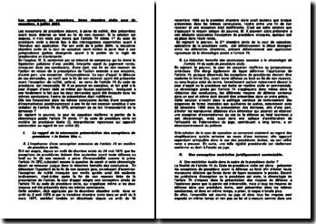 Les exceptions de procédure, 2ème chambre civile cour de cassation, 8 juillet 2004