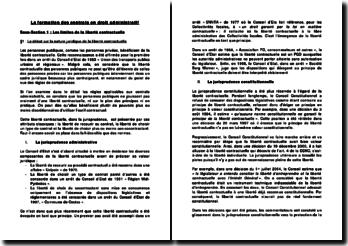 La formation des contrats en droit administratif