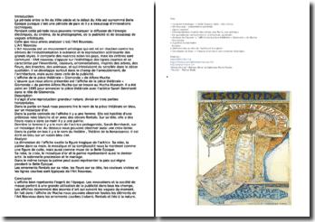 L'Art nouveau: affiche de la pièce théâtrale « Gismonda » de Alfons Mucha