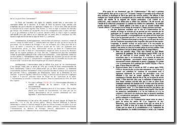 Le principe de légalité et le régime juridique de l'acte administratif