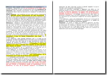 Différence entre mandat ad hoc et procédure de conciliation