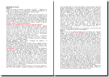 Sociologie du travail : évolutions des conceptions du travail au cours de l'histoire