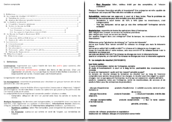 Gestion comptable