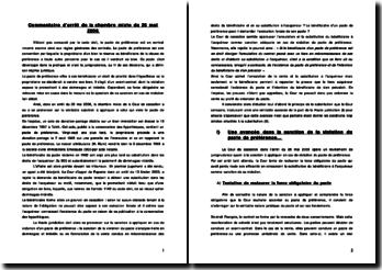 Cour de cassation, chambre mixte, 26 mai 2006 : Viol du pacte de préférence