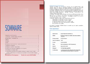 Management stratégique : étude de cas de KOUTOUBIA