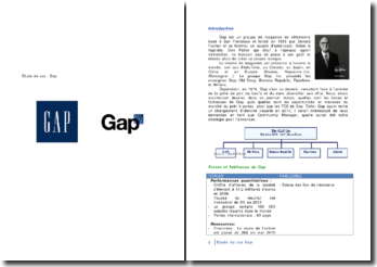 Groupe de magasin Gap: changement de logo et conséquences