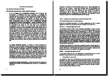 Le droit fiscal des entreprises: les méthodes d'évaluation des bénéfices non commerciaux (BNC)