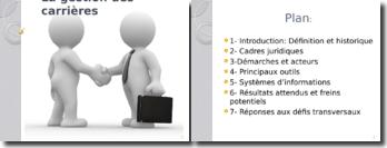 La gestion des carrières