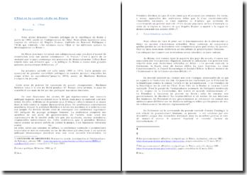 L'Etat et la société civile au Bénin