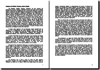 Analyse de l'affaire Twenga contre Google