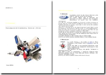 Etude comparative de l'e-merchandising: Materiel.net - LDLC.com