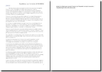 Synthèse d'une enquête menée par Martina Avanza au sein d'un mouvement xénophobe