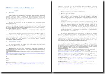 L'Etat et la société civile au Burkina Faso