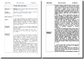 MOREAU J.P,Le schisme d'Henri VIII - MOREAU J.P
