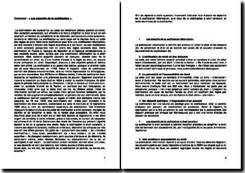 Dissertation : « Les objectifs de la codification »
