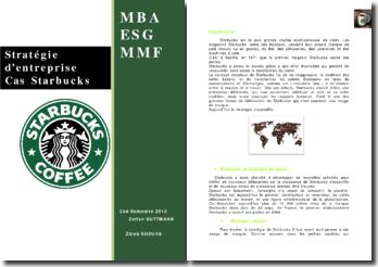 Stratégie d'entreprise: cas Starbucks