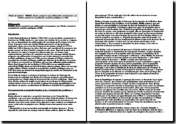 Doutes proposés aux philosophes économistes sur l'Ordre naturel et essentiel des sociétés politiques (1768) - L'abbé Gabriel Bonnot de Mably