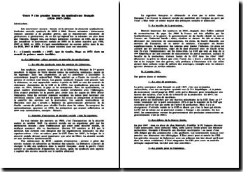 Les grandes heures du syndicalisme français (1936-1947-1968)