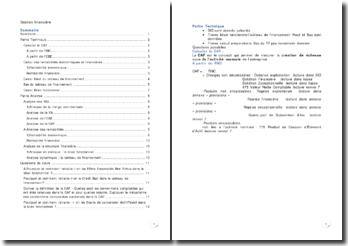 Gestion financière - calculs, analyses et applications pratiques