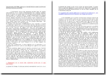 Commentaire arrêt APREI rendu par le Conseil d'Etat en date du 22 février 2007