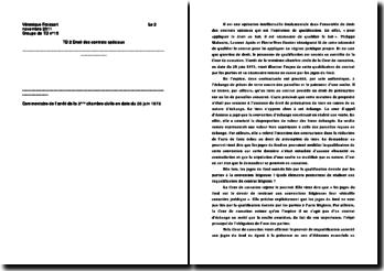 Commentaire d'arrêt de la troisième Chambre civile de la Cour de cassation en date du 26 juin 1973 : l'enjeu de la qualification du contrat par les parties
