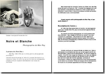 Dossier d'analyse d'histoire de l'art: photographie de Man Ray