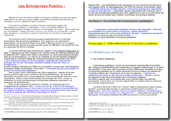 Les entreprises publiques en Tunisie
