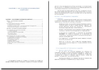 Les systèmes d'information comptable et ses différentes sources de données