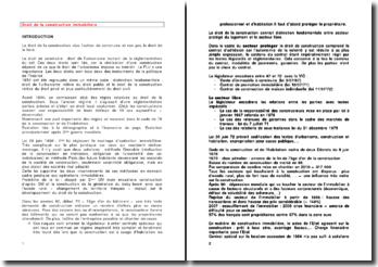 Le contrat de droit commun des constructeurs: le contrat de louage-ouvrage