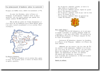 La principauté d'Andorre attise la curiosité