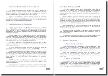 L'Intervention Sociale de l'Aide à la Personne (I.S.A.P.)