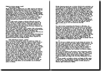 Le sionisme de Theodor Herzl et son projet politique concret