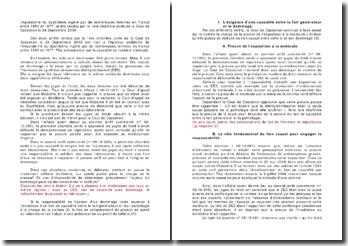 Imputabilité du distilbène ingéré par de nombreuses femmes en France entre 1950 et 1977, arrêts rendus par la 1ère chambre civile, Cour de Cassation, 24 Septembre 2009