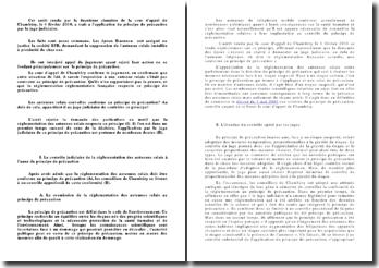 Commentaire d'arrêt de la Deuxième Chambre de la Cour d'Appel de Chambéry, le 4 février 2010: l'application du principe de précaution par le juge judiciaire