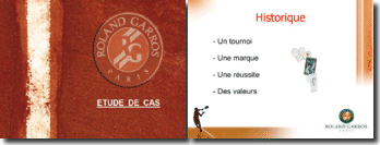 La marque Roland Garros et son marketing