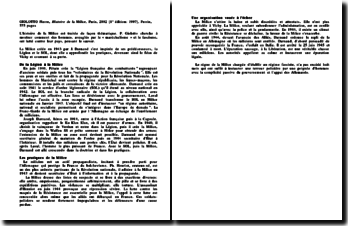 Histoire de la Milice - Pierre Giolotto