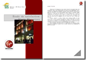L'étude de satisfaction pour le Virgin Megastore de Rennes